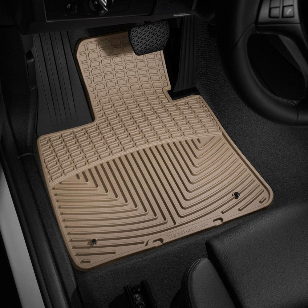 Weathertech all weather floor mats tan