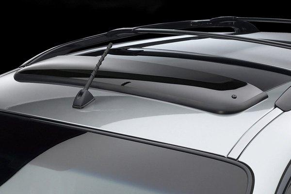 anti-wind noise sun roof deflector