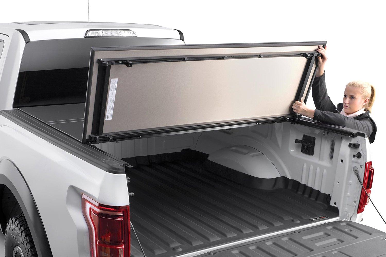 weathertech® 8hf040026 - alloycover™ hard tri-fold pickup truck