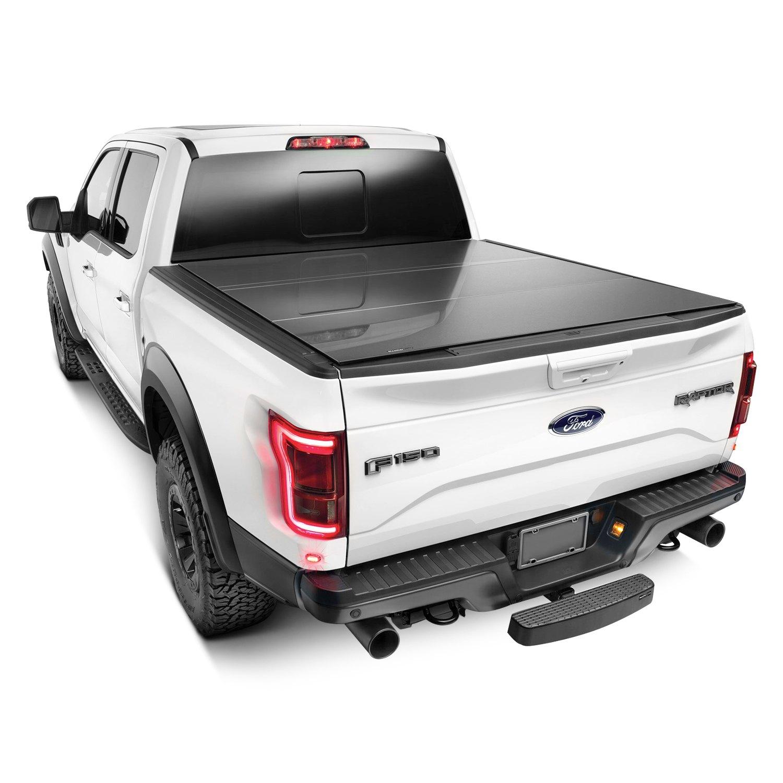 weathertech® 8hf020046 - alloycover™ hard tri-fold pickup truck