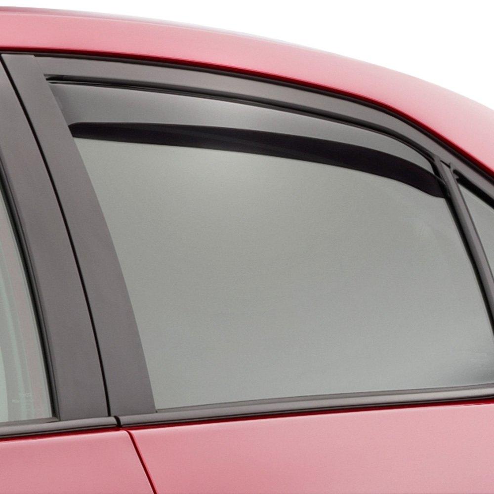 Weathertech 174 Toyota Corolla 2014 2016 Light Smoke Side