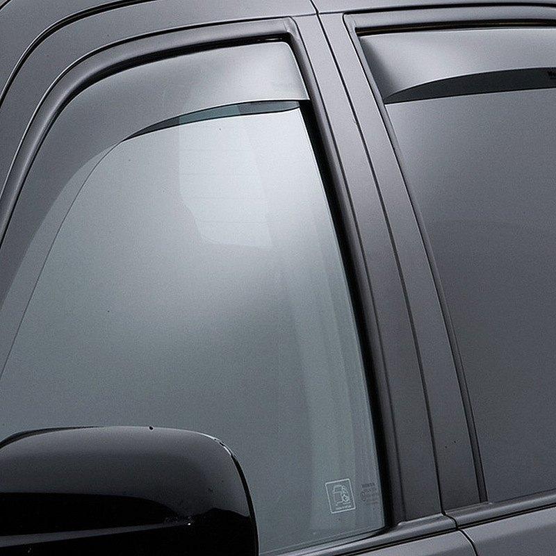 Weathertech honda cr v 2002 2006 light smoke side for 2002 honda civic rear window visor
