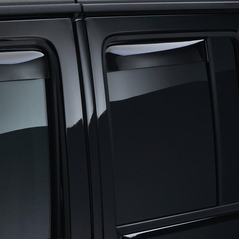 Wrangler Rear Window Rear Window Deflectors