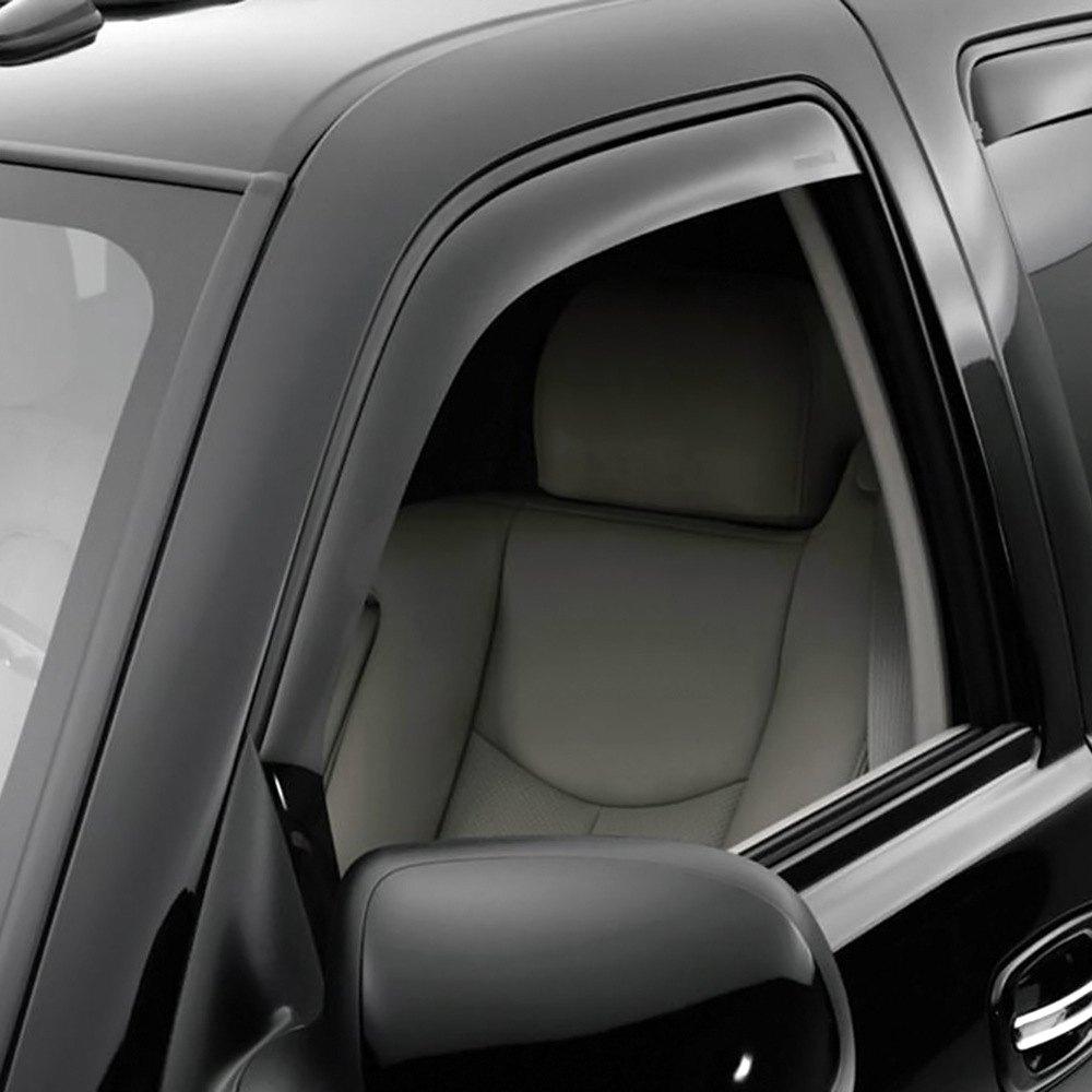 19302763 - Chevrolet Crew Cab In-Channel Side Door Window ... |White Silverado Window Deflectors