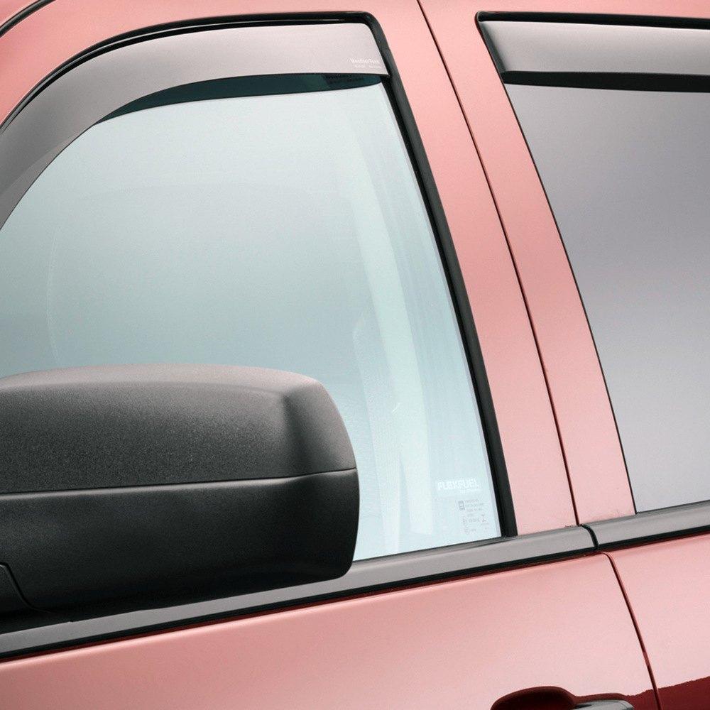 AVS Window Rain Smoke Visors 2014-2017 Chevy Silverado ... |White Silverado Window Deflectors