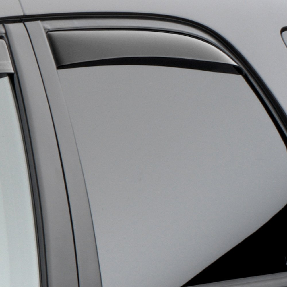 Chevy colorado gmc canyon finally here weathertech for Window guards