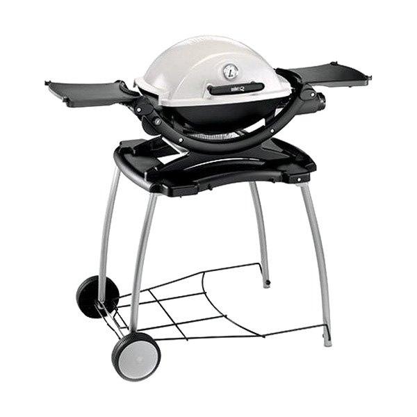 Weber 6549 rolling cart for Barbecue weber gaz q120
