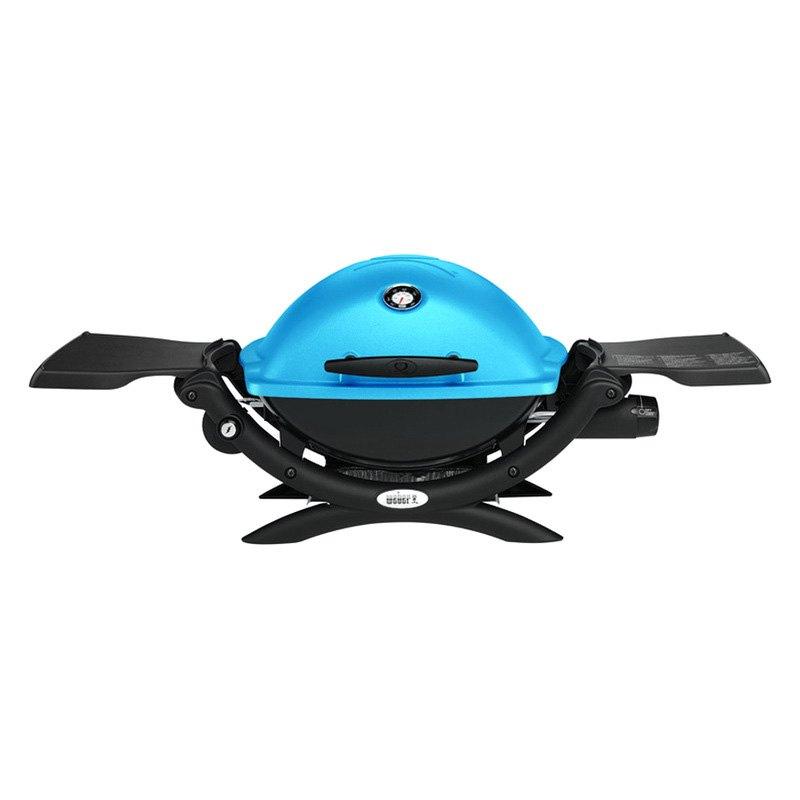 weber 51080001 blue q 1200 portable propane grill. Black Bedroom Furniture Sets. Home Design Ideas
