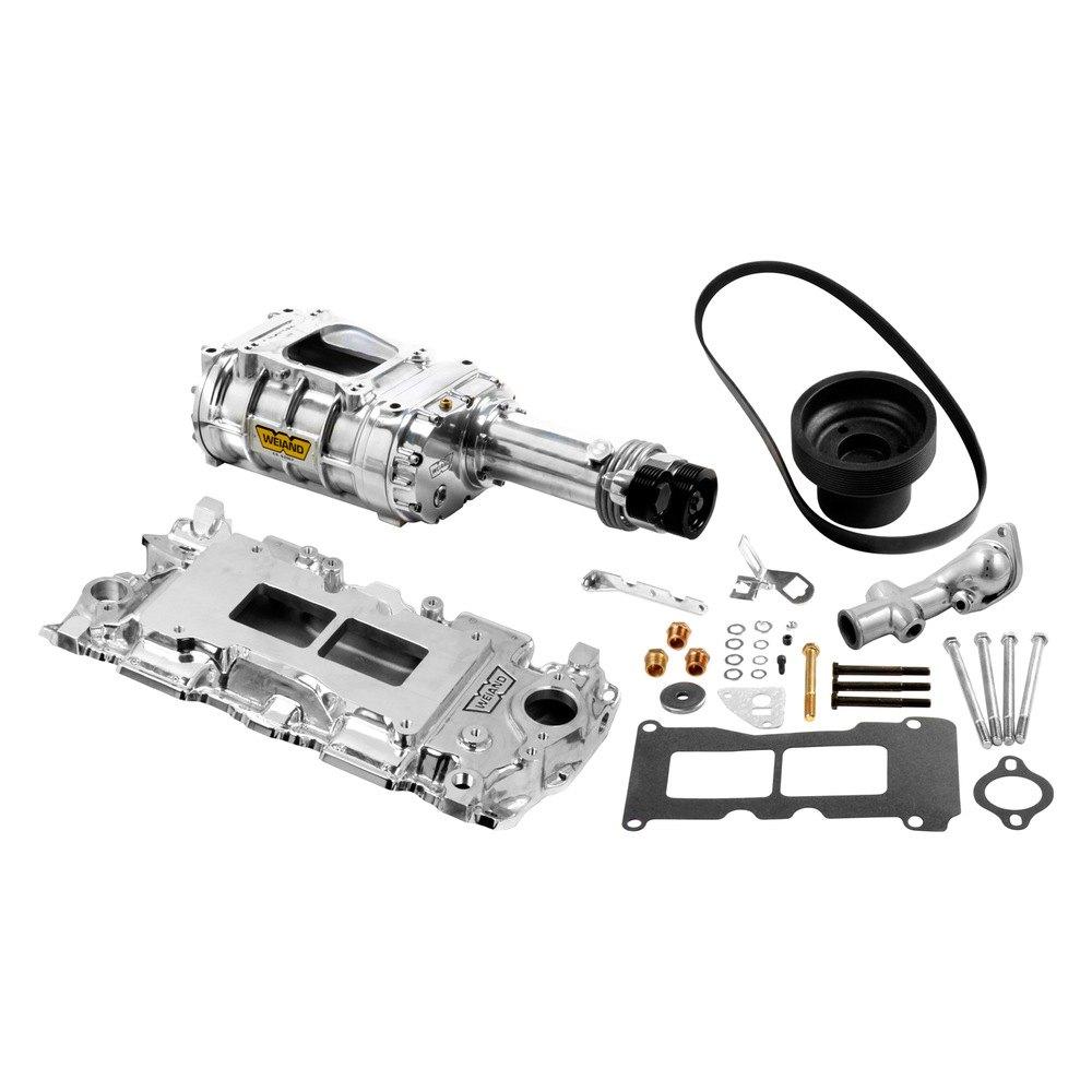 Oldsmobile Supercharger Kits: 142 Blower Pro-Street™ Polished
