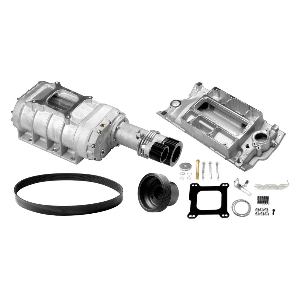 Supercharger Blower Pictures: 177 Blower Pro-Street™ Satin Supercharger Kit