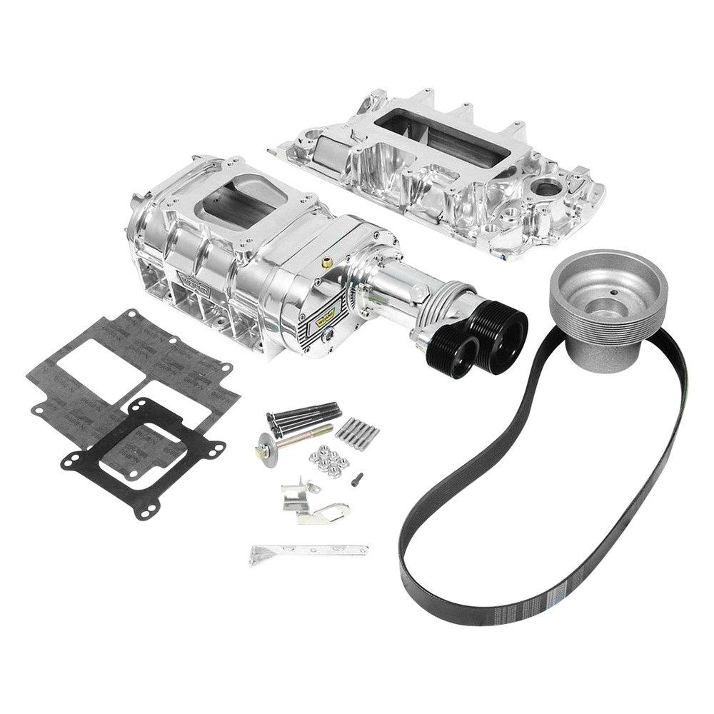 Weiand® 6520-1 - 177 Blower Pro-Street™ Polished Supercharger Kit