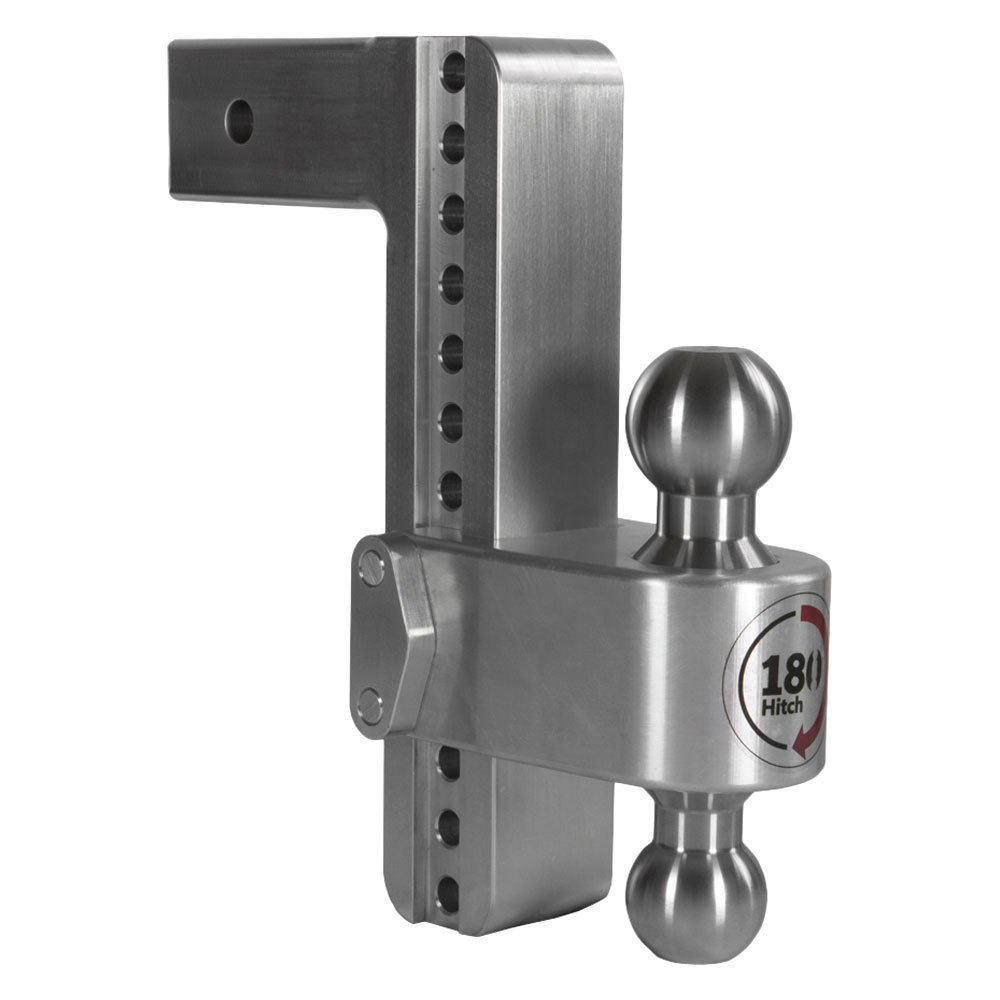 "Weigh Safe Hitch >> Weigh Safe® - Class 4 180 Hitch Adjustable Dual Ball Mount for 2"" Receivers"