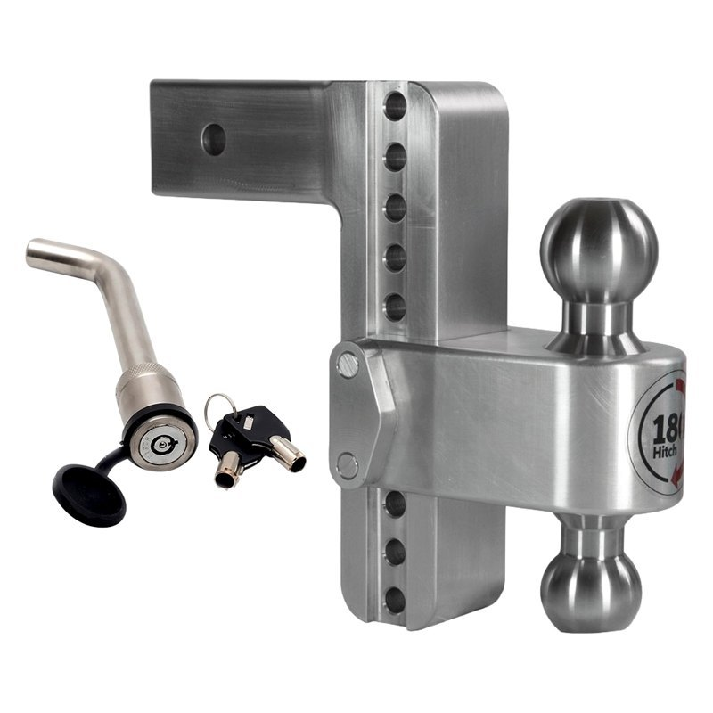 Adjustable Hitch Receiver >> Weigh Safe Class 5 180 Hitch Adjustable Dual Ball Mount For 2 1 2 Receivers