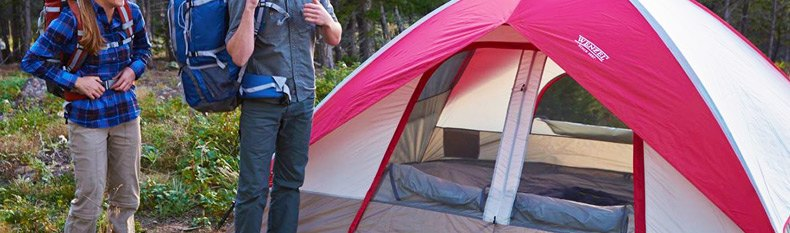 Ridgeline 3-Person Tent (36496) by Wenzel®. Dimensions 7u0027 x 7u0027 x 50 . Sleeps 3 And Offers Lite Reflect. Perfect for car c&ing or backpacking ... & Wenzel® 36496 - Ridgeline 3-Person Tent