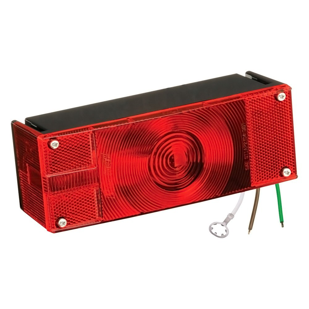 Wesbar® - Over 8-Function Low Profile Driver Side Tail Light with Stripped Leads  sc 1 st  CARiD.com & Wesbar® 006504 - Over 8-Function Low Profile Driver Side Tail Light ...
