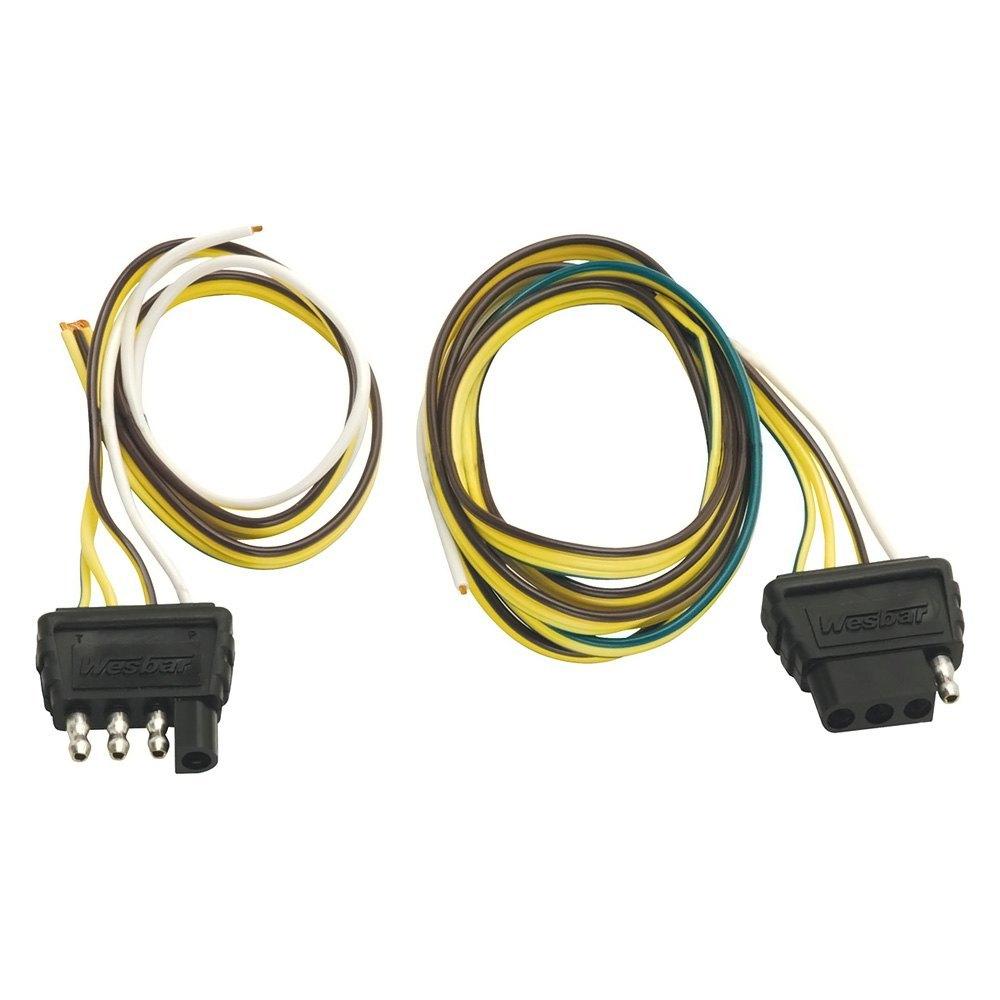 Wesbar 5 Way Flat Trailer Connector Wishbone 707105 Wiring Wire