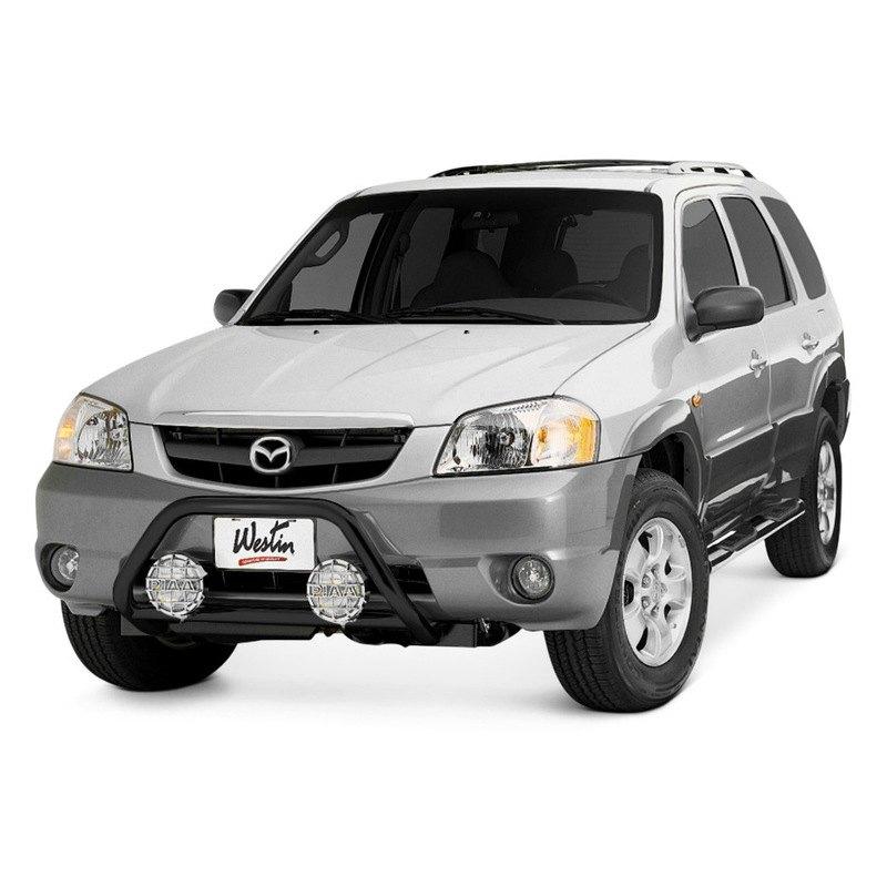 "2001 Mazda Tribute Exterior: 2"" Safari Black Light Bull Bar W/o Skid"