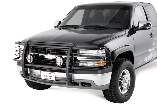 Chevy Brush Guard : Westin chevy tahoe  sportsman grille guard
