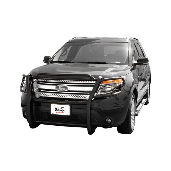 Ford Grill Guard For 85 : Westin ford explorer sportsman black grille guard