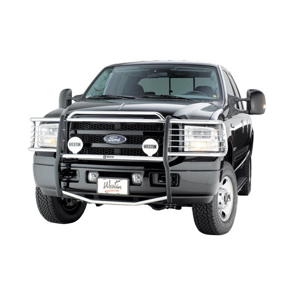 Ford Grill Guard For 85 : Westin ford f super duty sportsman grille guard