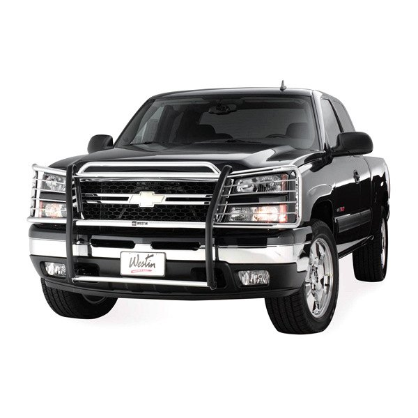 Grill Guards For Chevy Trucks : Westin chevy silverado  sportsman grille guard
