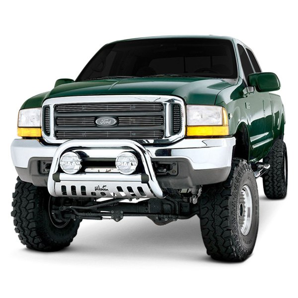 Westin Automotive Products 32-3600 Chrome 3 Diameter Ultimate Bull Bar for 2010 Toyota 4Runner