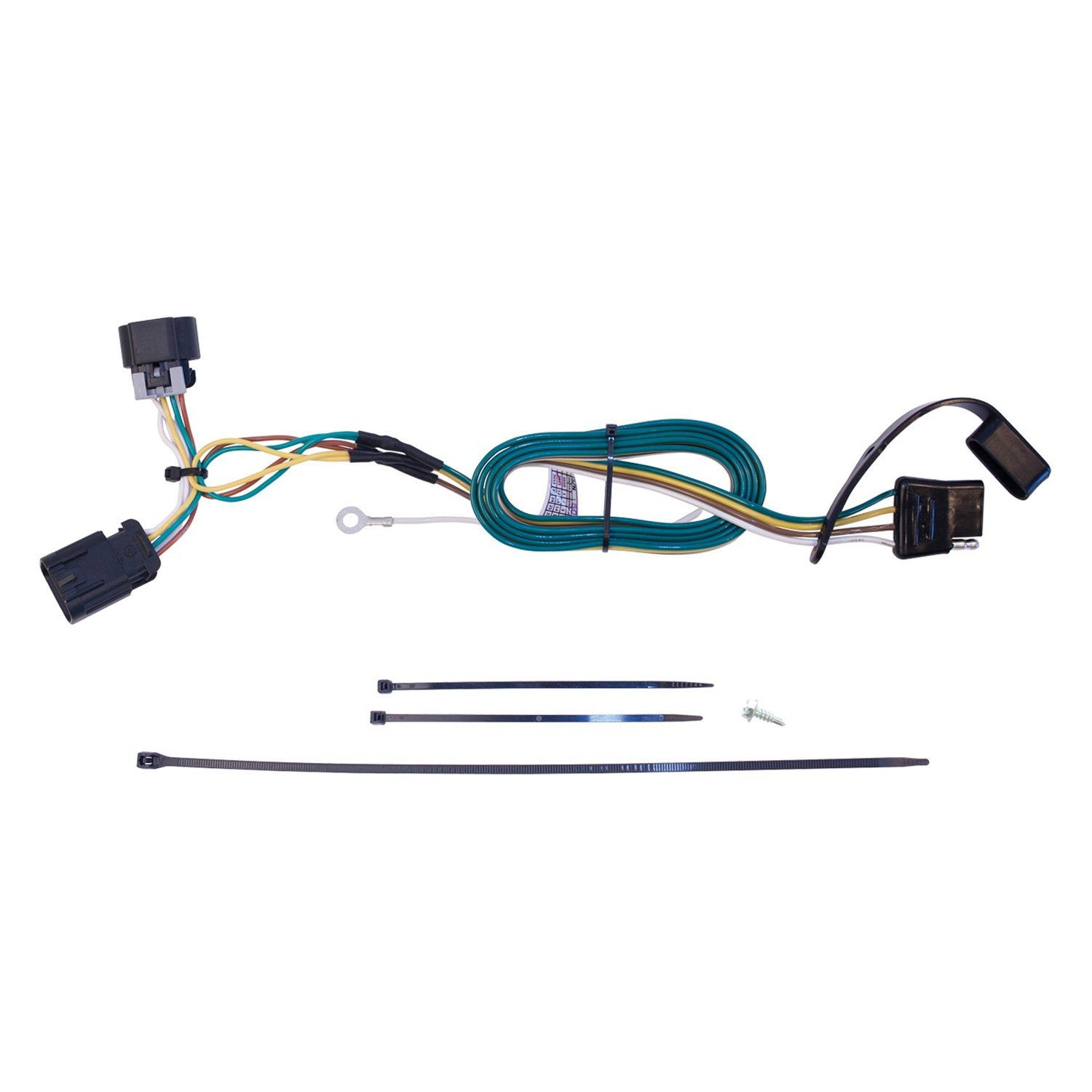 Westin 65 60061 Towing Wiring Harness Exposed