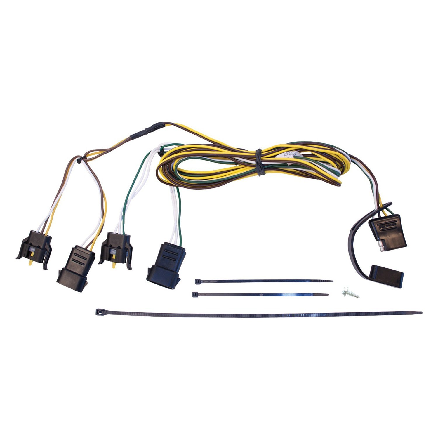 Westin® 65-62004 - Towing Wiring Harness on trailer coupler types, trailer hitch types, hair extension types, wiring harness connector types,