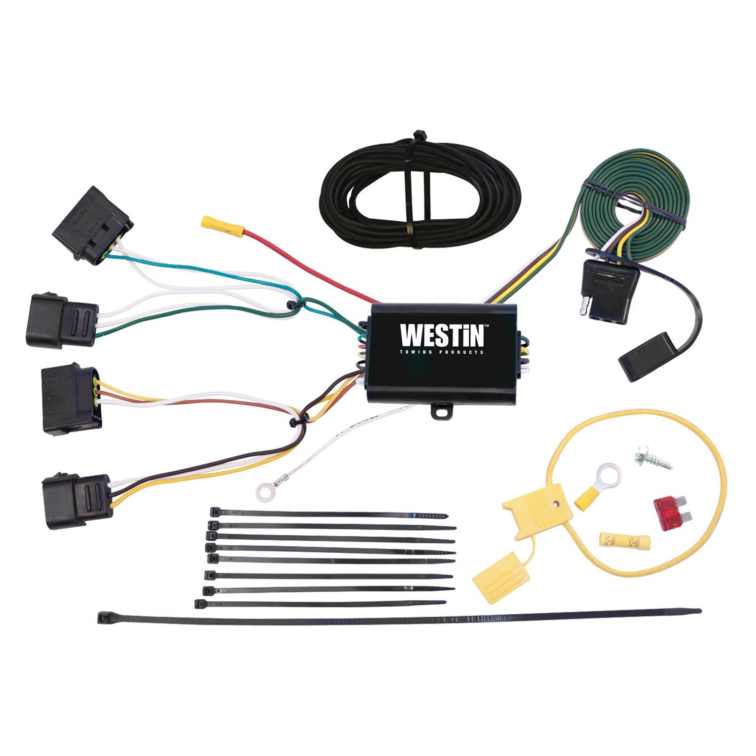 ford escape stereo wiring harness westin® - ford escape 2012 towing wiring harness ford escape towing wiring harness
