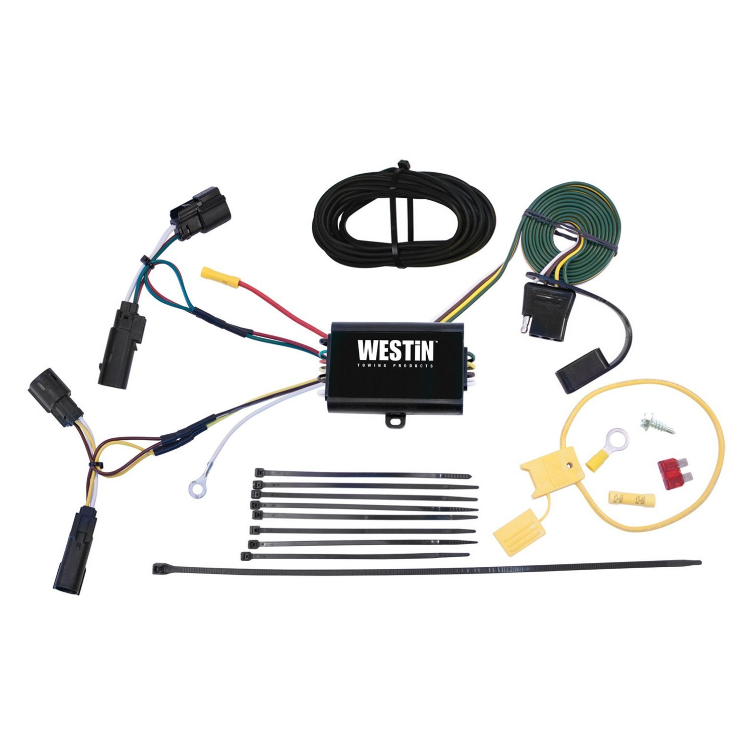 Ford Escape Towing Wiring Harness Diagram Schematics For 2013 2016 Westin 707742049334 Trailer
