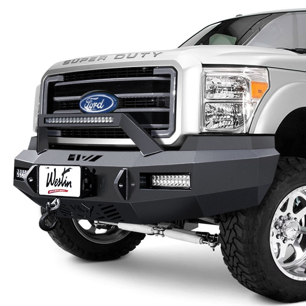 Ford F 250 Custom Bumpers : Westin ford f hdx™ full width front winch
