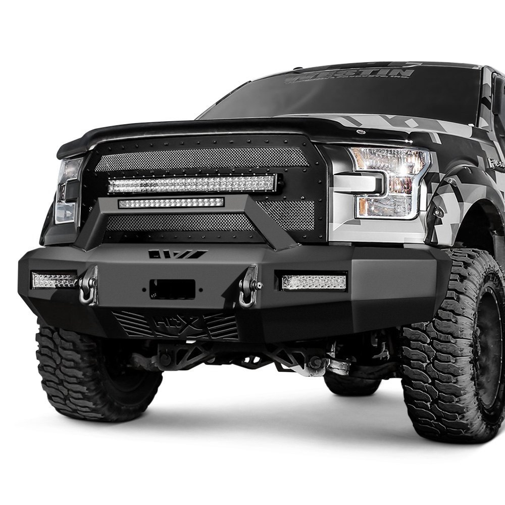 westin ford f 350 2017 hdx full width front winch hd bumper. Black Bedroom Furniture Sets. Home Design Ideas