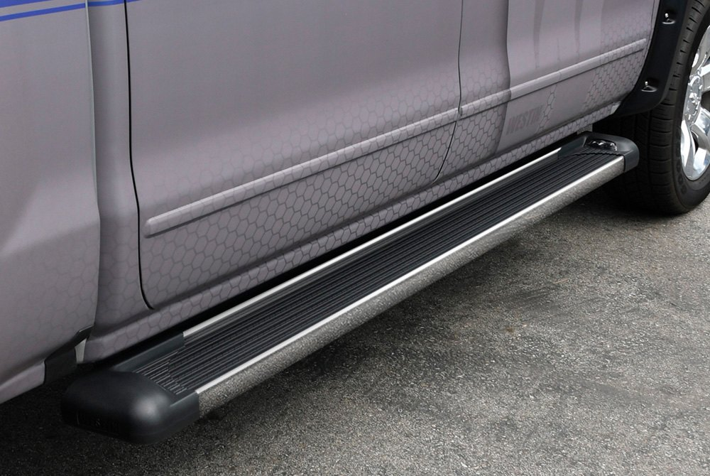 Westin Polished SG6 Running Boards Polished Aluminum Running Board 68.4 inches