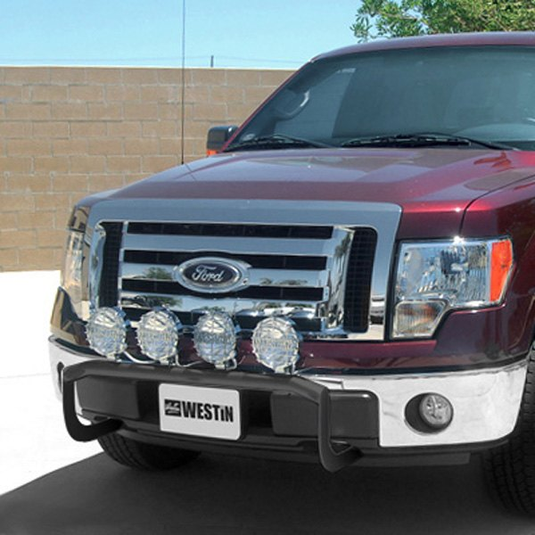 Westin off road light bar black powdercoated off road light bar on ford f 150 aloadofball Images