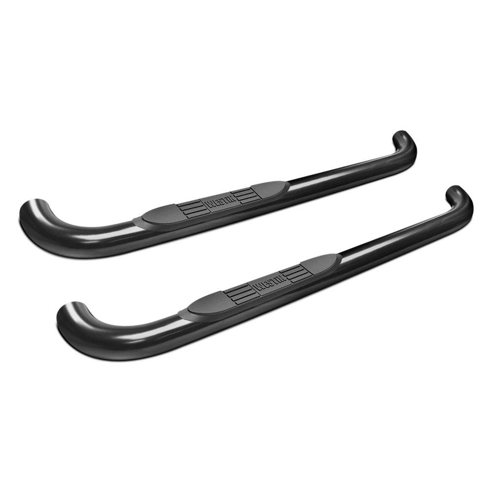 "Westin E-Series Round Nerf Bars 3/""Polished Stainless For 99-13 Silverado 1500"
