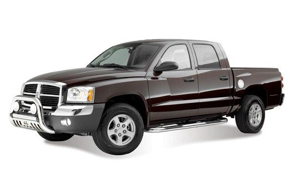 05 10 dodge dakota nerf side bars quad cab 3 round truck. Black Bedroom Furniture Sets. Home Design Ideas