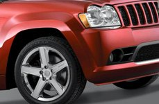 WHEEL REPLICAS® - 2006 JEEP SRT 8 Chrome on Jeep Grand Cherokee