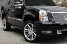 WHEEL REPLICAS® - PLATINUM Chrome on Cadillac Escalade