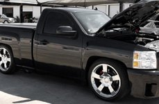 WHEEL REPLICAS® - SILVERADO SS Chrome on Chevy Silverado
