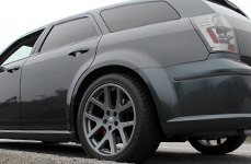 WHEEL REPLICAS® - SRT 10 Matte Black on Dodge Magnum