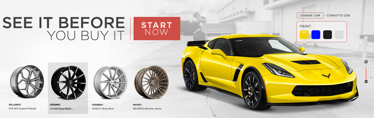Privat Wheels Configurator