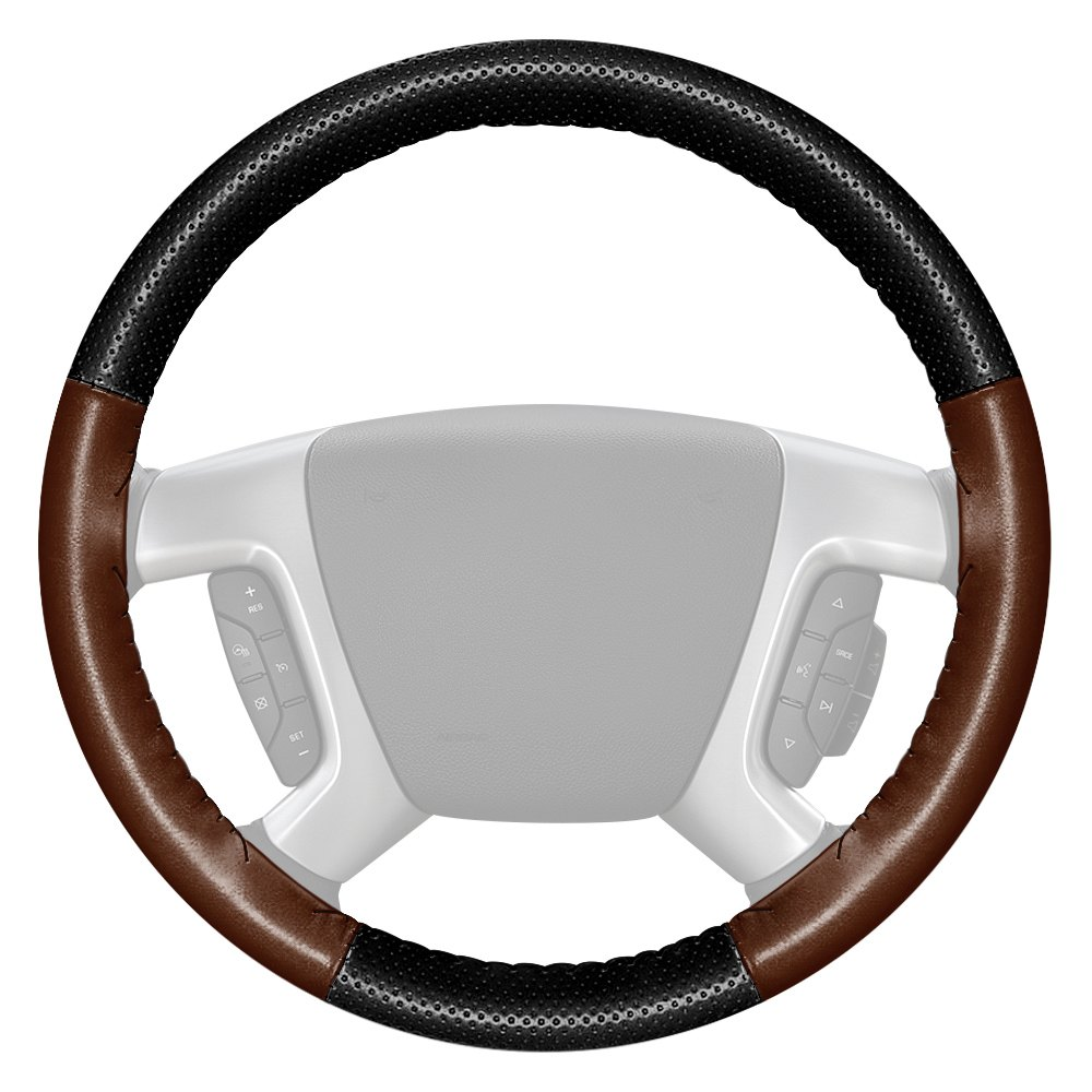 Wheelskins Axx 01perf 03 Europerf Perforated Black Steering Wheel