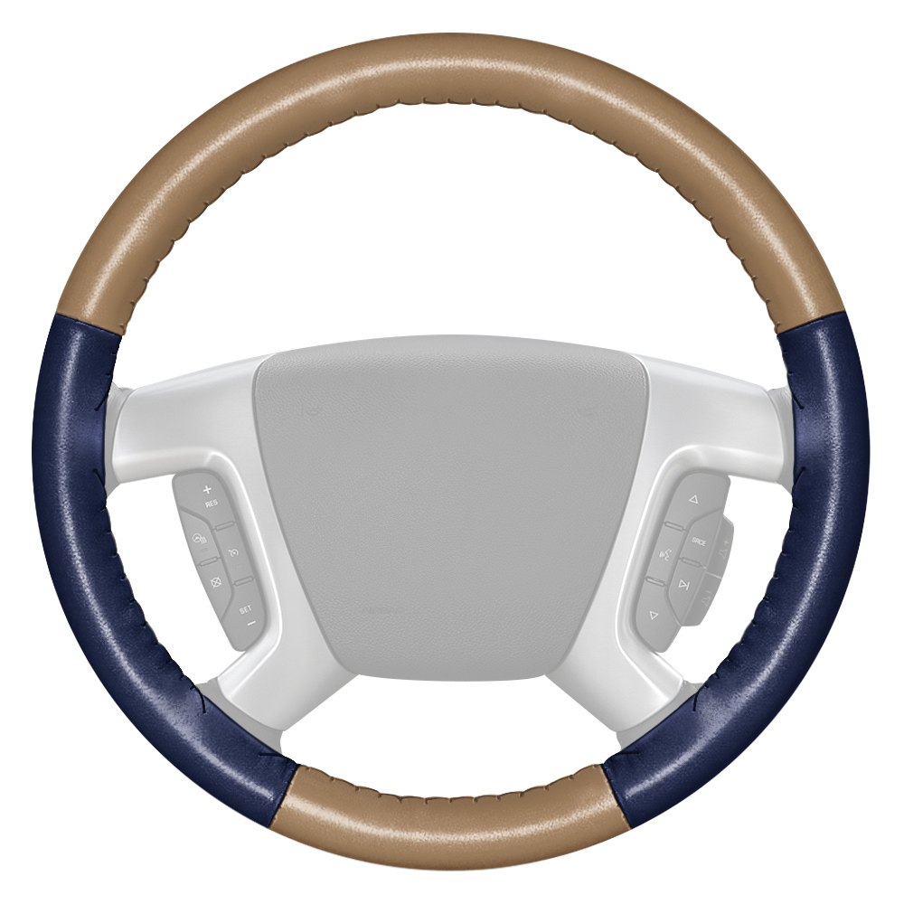 For Acura RDX 14-19 Steering Wheel Cover EuroTone Two