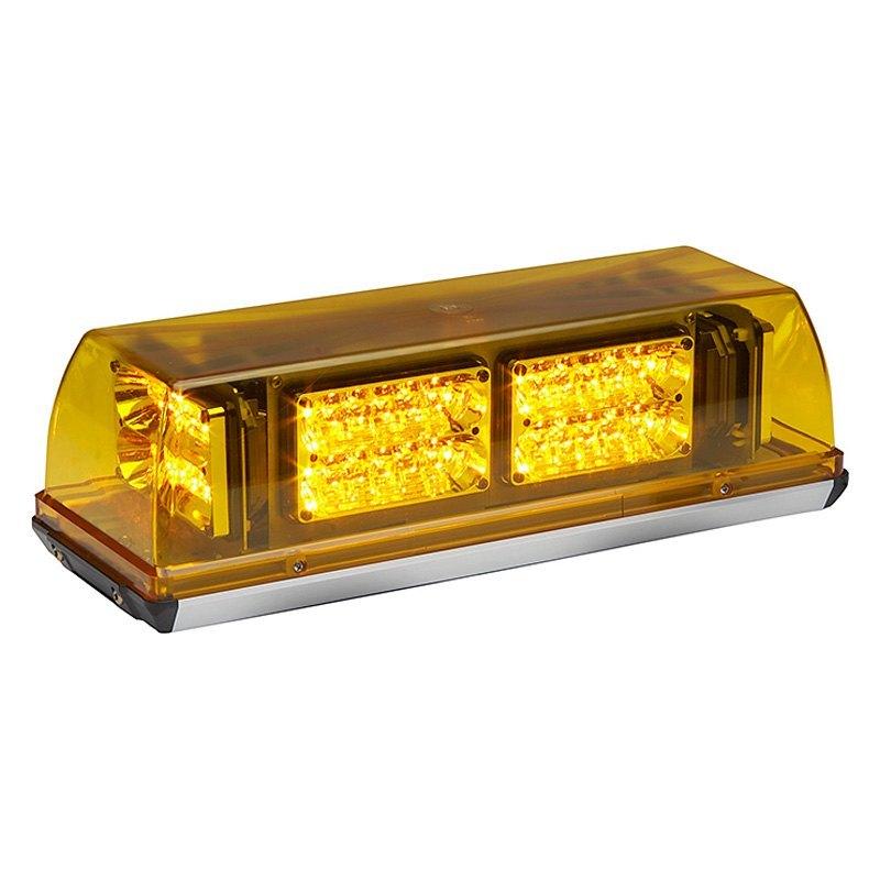 Whelen Responder Super Led Mini Amber Emergency Light Bar