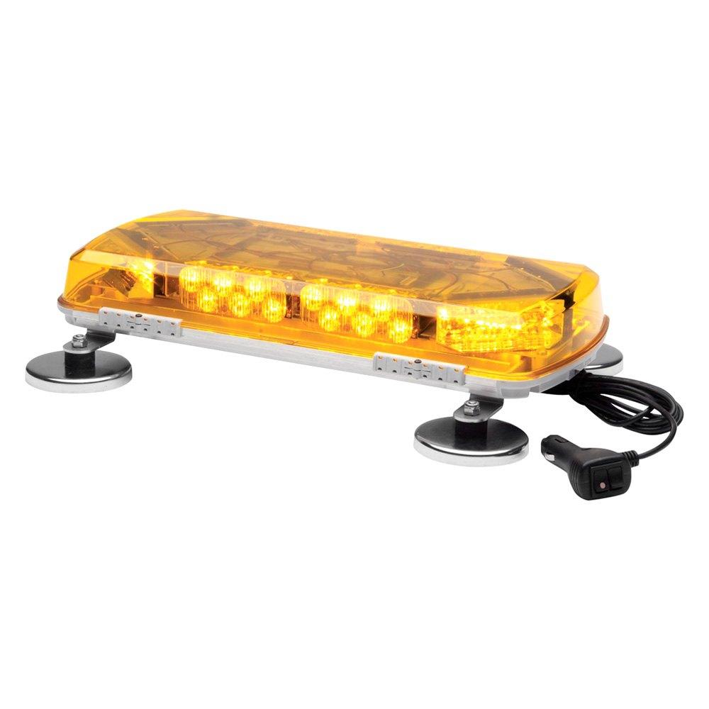 Whelen Mc11ma 11 Century Series Magnet Amber Emergency Led Light Bar