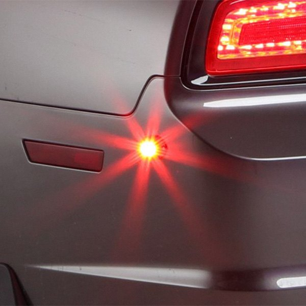 Vehicle Strobe Lights >> Whelen® VTX609R - Vertex™ Super-LED™ Red LED Hideaway Strobe Light