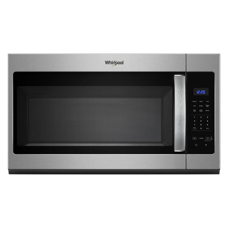 Whirlpool 1 7 Cu Ft 1000w Gray Countertop Microwave W