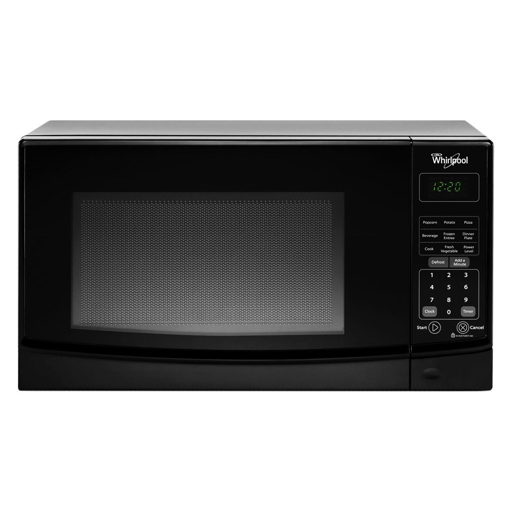 Whirlpool? - 0.7 cu. ft. Countertop Black Microwave with Electronic ...