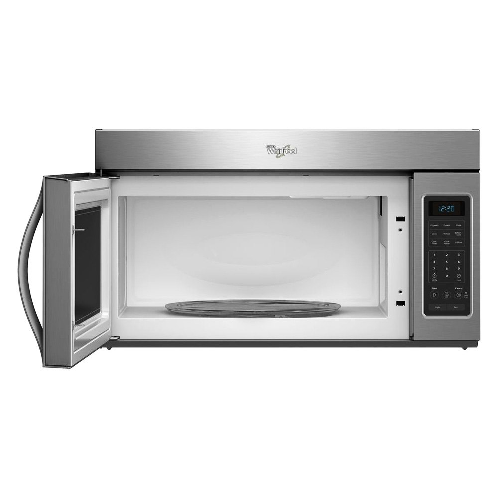 Whirlpool Wmh31017as 1 7 Cu Ft Over The Range Silver