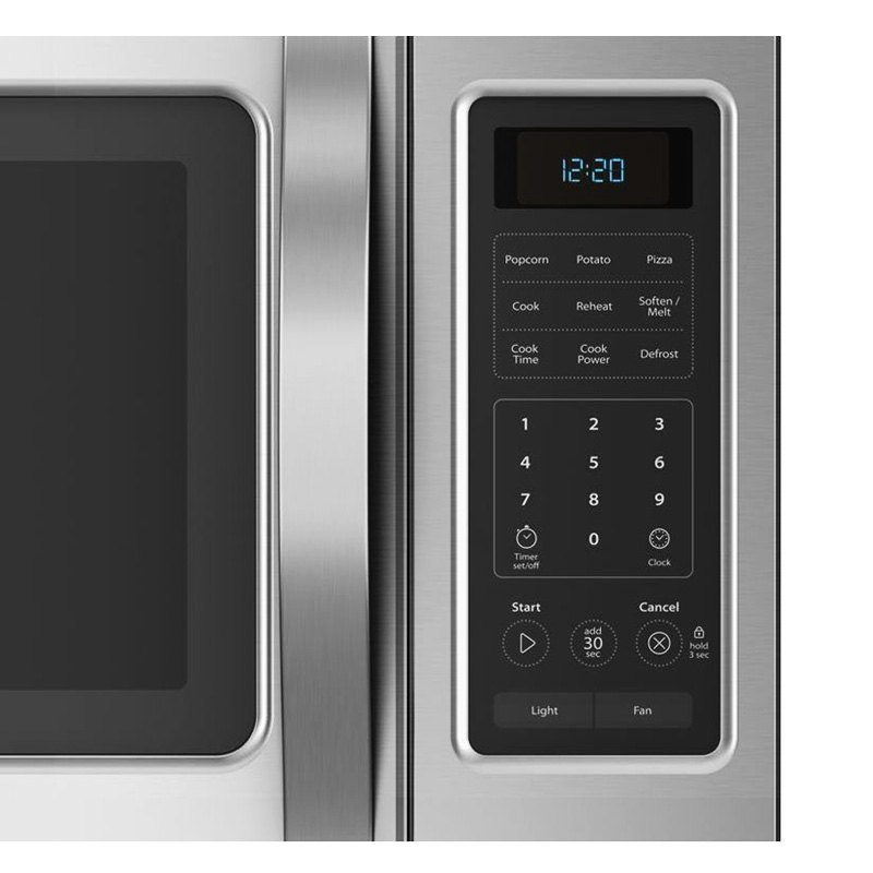 Over The Range Black Microwave With Hidden